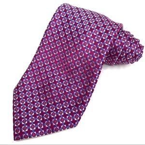 Canali Squares Silk Tie. LIKE NEW!